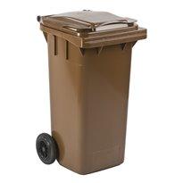Mini-container 120 ltr - bruin