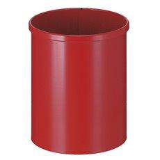Ronde papierbak 15 ltr - rood