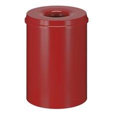 Vlamdovende papierbak 30 ltr - rood