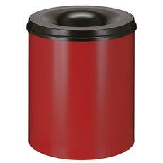 Vlamdovende papierbak 80 ltr - rood/zwart