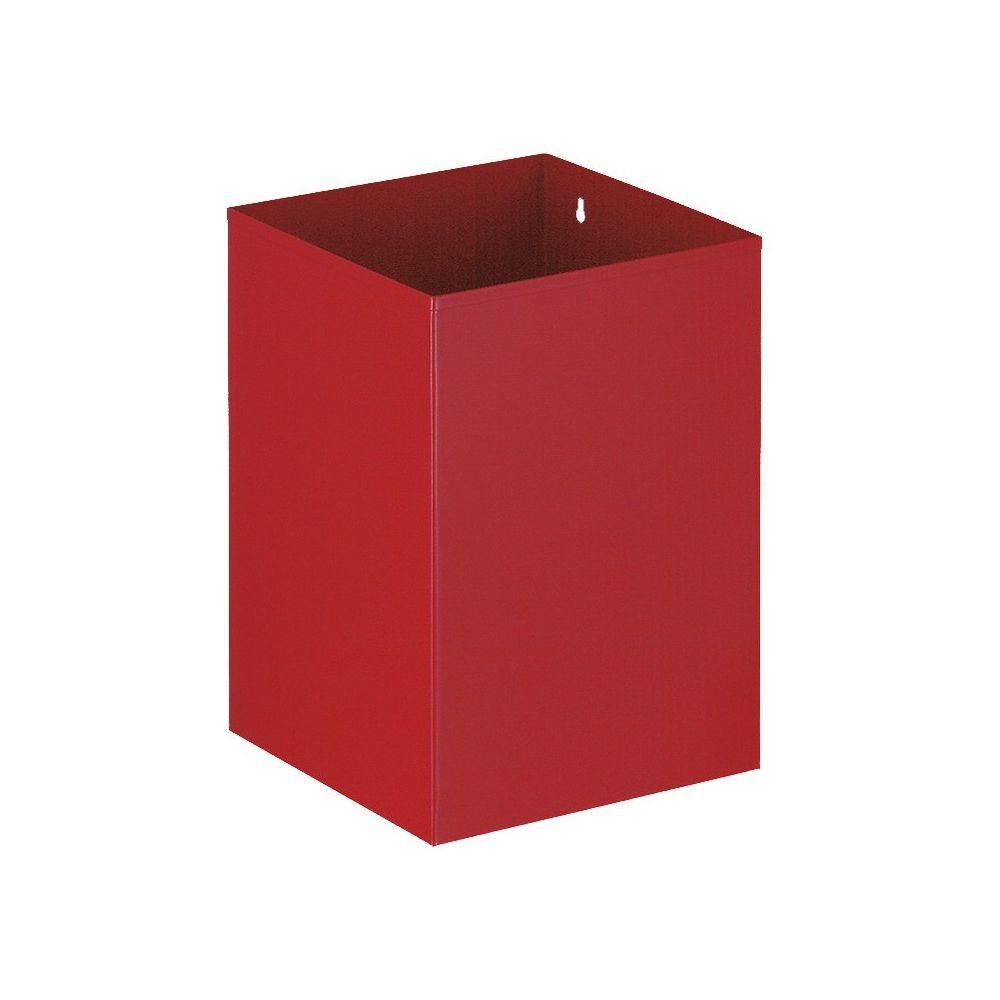 Vierkante papierbak - rood