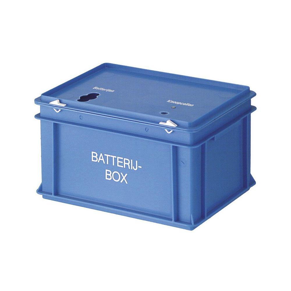 Batterijbox - blauw
