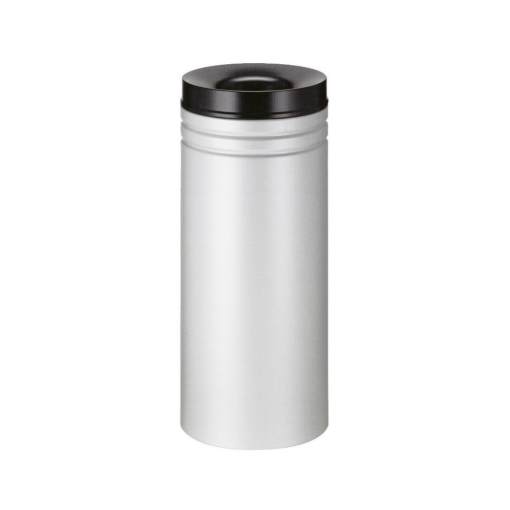 Vlamdovende papierbak 50 ltr grijs/zwart