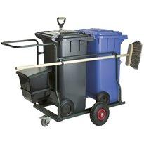 Containerkar 2x 120 ltr compleet - groen