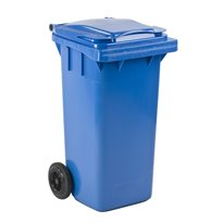 Mini-container 120 ltr - blauw
