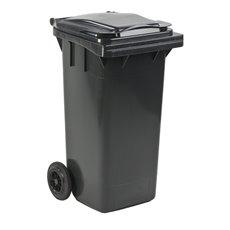 Mini-container 120 ltr - grijs