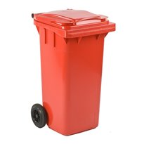 Mini-container 120 ltr - rood