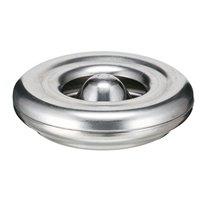 Vlamdovende asbak Ø12 - aluminium