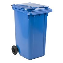 Mini-container 240 ltr - blauw