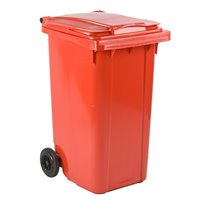 Mini-container 240 ltr - rood