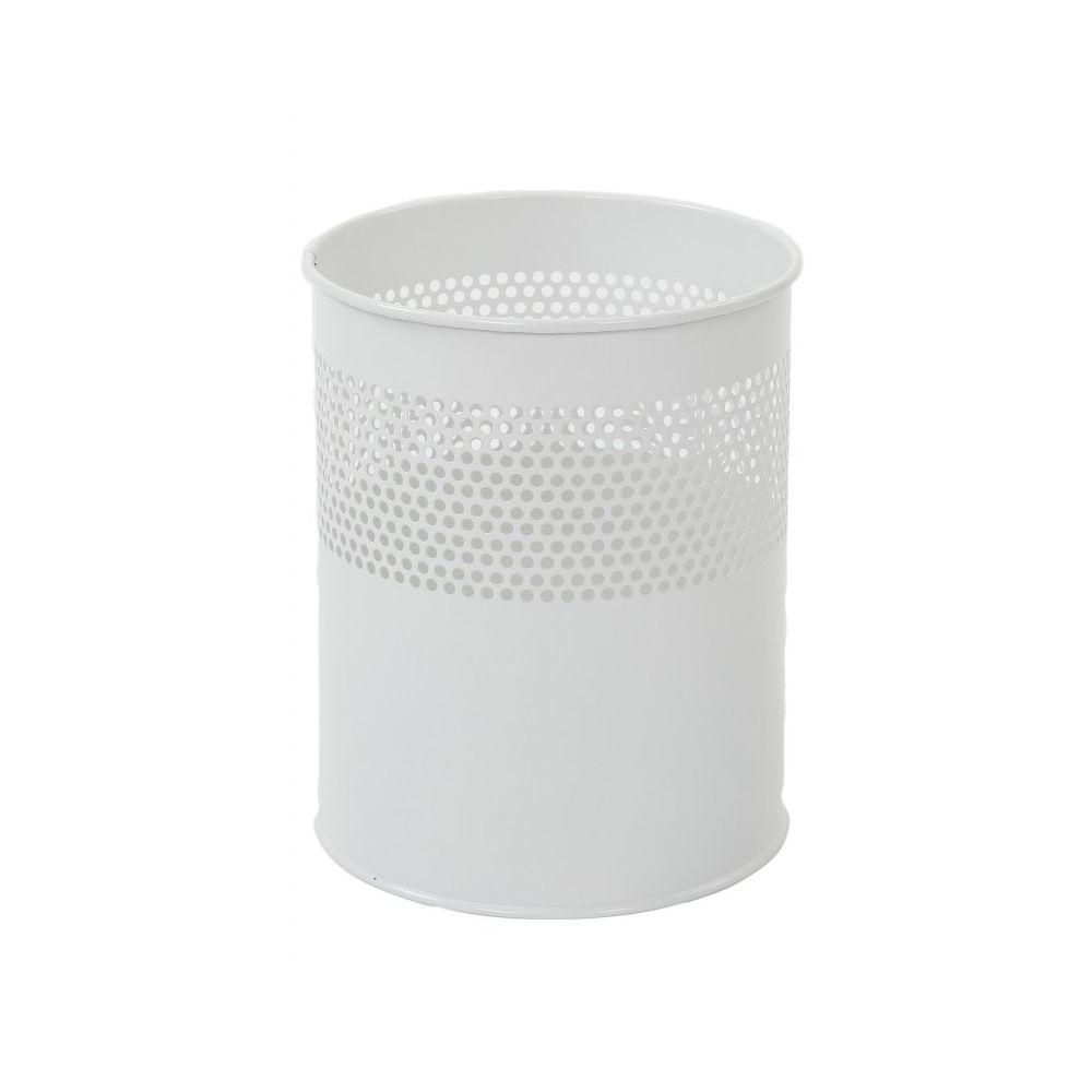 Half geperforeerde papierbak 10 ltr - wit