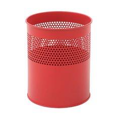 Half geperforeerde papierbak 10 ltr - rood