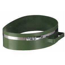 Afvalzakhouder-ring voor kantonnier - groen