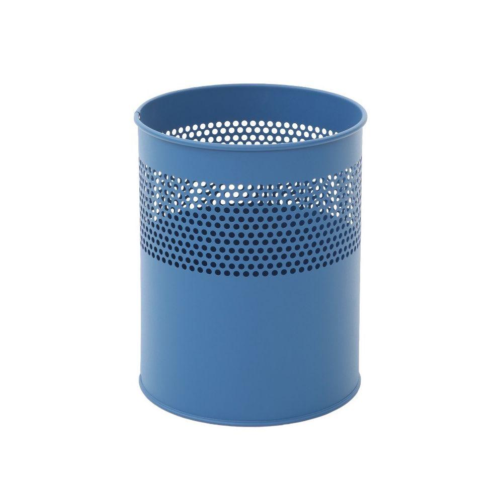 Half geperforeerde papierbak 10 ltr - blauw