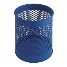 Geperforeerde papierbak 15 ltr - blauw