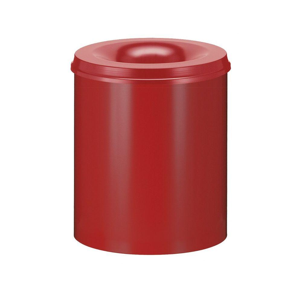 Vlamdovende papierbak 80 ltr - rood