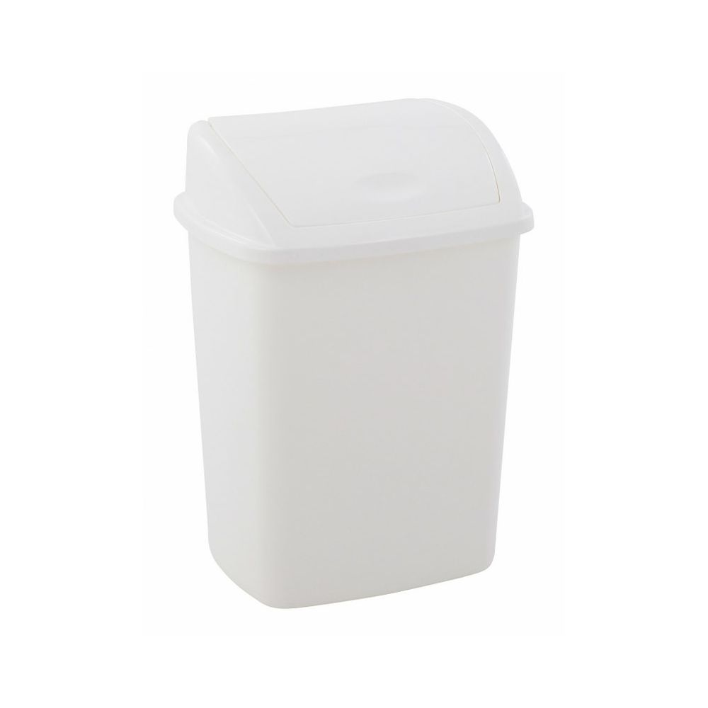 Afvalbak 15 ltr - wit