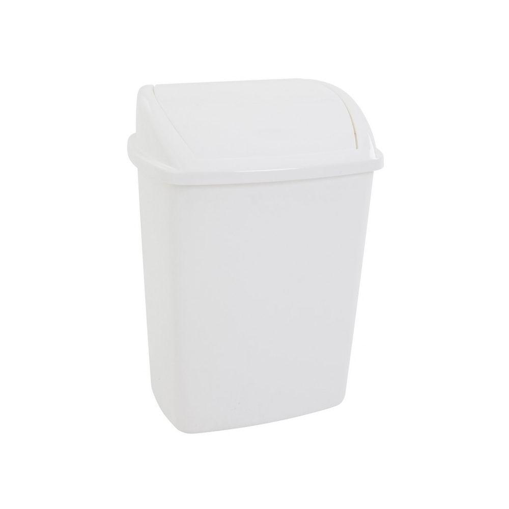 Afvalbak 26 ltr - wit