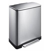 EKO Pedaalemmer E-Cube 50 ltr - mat RVS