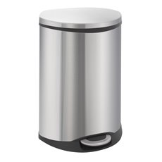 EKO Shell Recycling Bin - mat RVS