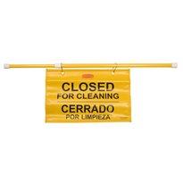 Rubbermaid Hangende waarschuwingsvlag - geel