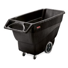 Rubbermaid Tilt Truck 0,6 m3 - zwart