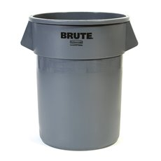 Rubbermaid Ronde Brute Container 208,2 ltr - grijs