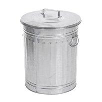 Trash can - verzinkt