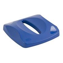 Rubbermaid Deksel met langwerpige opening - blauw