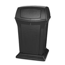 Rubbermaid Ranger container - zwart