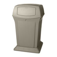 Rubbermaid Ranger container - beige