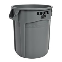 Rubbermaid Ronde Brute container 75,7 ltr - grijs