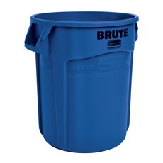 Rubbermaid Ronde Brute container 75,7 ltr - blauw
