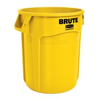 Rubbermaid Ronde Brute container 75,7 ltr - geel