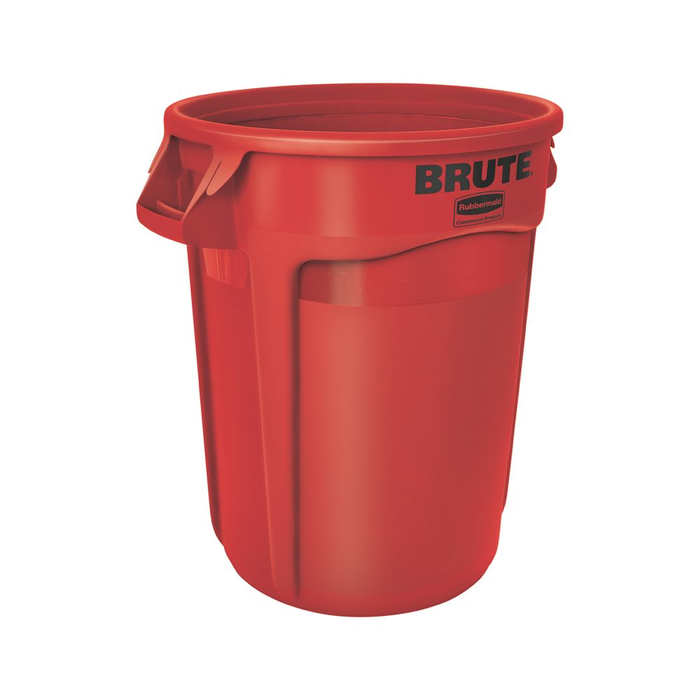 Rubbermaid Ronde Brute container 121,1 ltr - rood