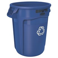 Rubbermaid Ronde Brute container 121,1 ltr - blauw