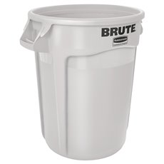 Rubbermaid Ronde Brute container 121,1 ltr - wit