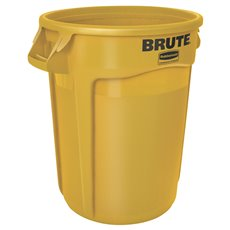 Rubbermaid Ronde Brute container 121,1 ltr - geel