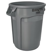 Rubbermaid Ronde Brute container 121,1 ltr - grijs