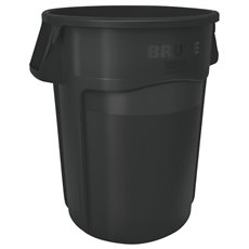 Rubbermaid Ronde Brute Utility container 166,5 ltr - zwart