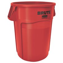Rubbermaid Ronde Brute Utility container 166,5 ltr - rood