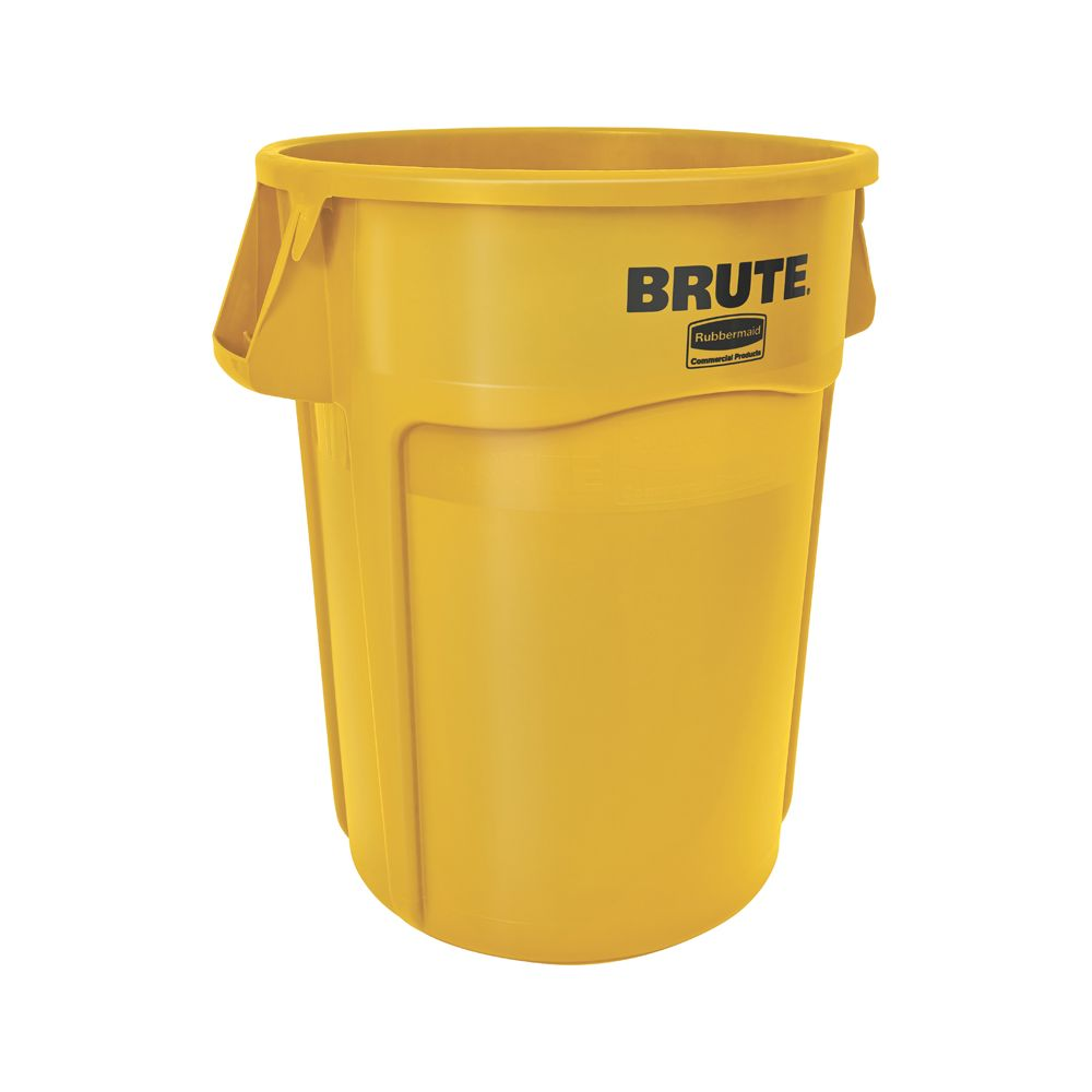 Rubbermaid Ronde Brute Utility container 166,5 ltr - geel