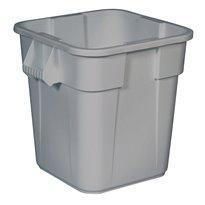 Rubbermaid Vierkante Brute container 106 ltr - grijs