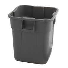 Rubbermaid Vierkante Brute container 151,4 ltr - grijs