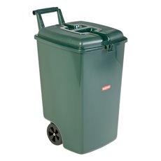 Rubbermaid Verrijdbare afvalbak - groen