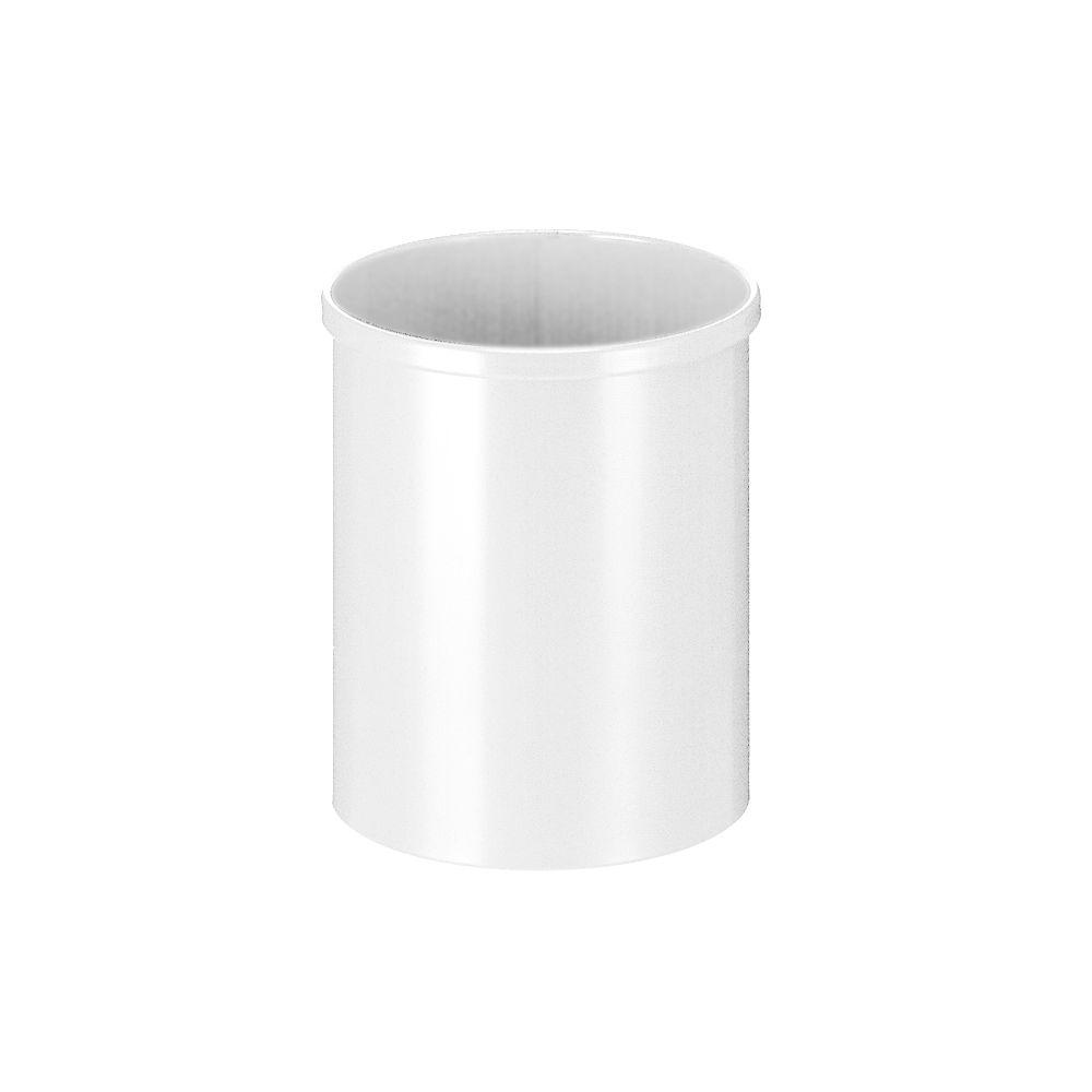 Ronde papierbak 15 ltr - wit