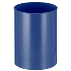 Ronde papierbak 30 ltr - blauw