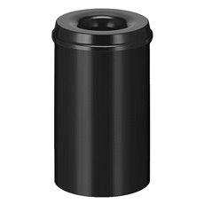 Vlamdovende papierbak 20 ltr - zwart