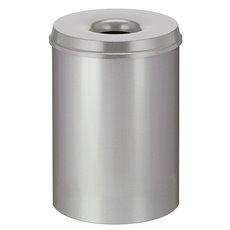 Vlamdovende papierbak 30 ltr - grijs