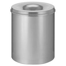 Vlamdovende papierbak 80 ltr - grijs